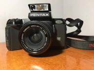 OKAZJA Pentax SFX + obiektyw Pentax-M smc