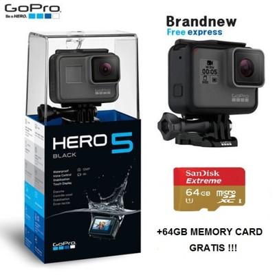 Gopro Hero 5 Black 64gb Karta Pamieci 6869286203 Oficjalne