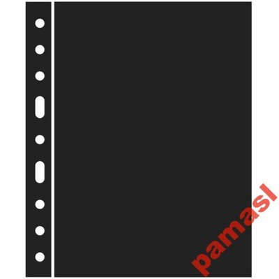Leuchtturm - przekładka czarna Optima Grande ZWL
