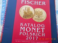 KATALOG MONET POLSKICH,FISZER,2017 r!