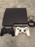 PlayStation 3 Ps3 slim 250gb + 2 pady + 5 gier!!