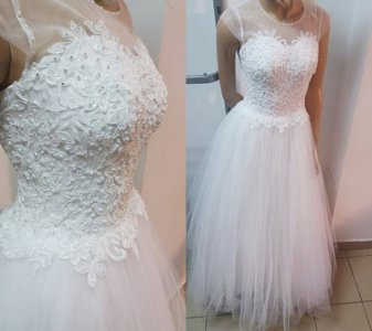 Suknia ślubna Piękna Gorset Perły 6460026212 Oficjalne