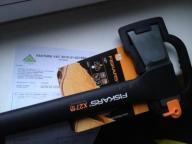 Siekiera Fiskars x27 rozłupująca raz użyta 122500