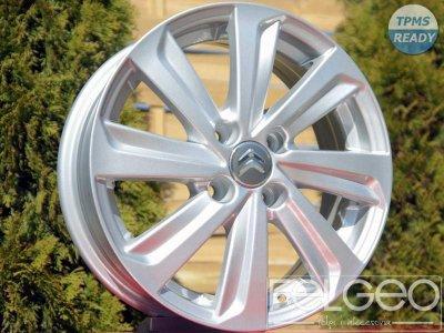 Felgi Aluminiowe 15 4x100 Citroen C1 C Zero Tpms 6205751855