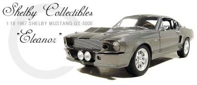 1:18 (1967) Ford Mustang Shelby GT500 Eleanor