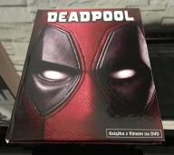 DEADPOOL -DVD, napisy, lektor PL, wersja książkowa