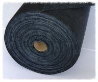 Fizelina z klejem rolka 100m 40g/m czarna, haft