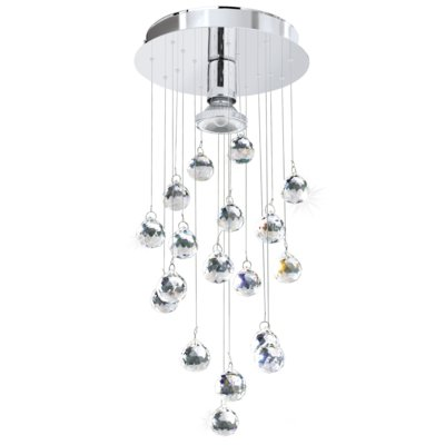 lampy led wiszące kule