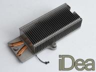 Radiator 14 x 6 x 3 cm HeatPipe APPLE - RealFoto