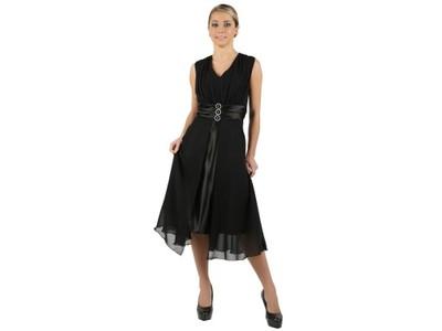 d420241a06 Sukienka rozkloszowana sukienki wesele ślub 56 - 6743694469 ...