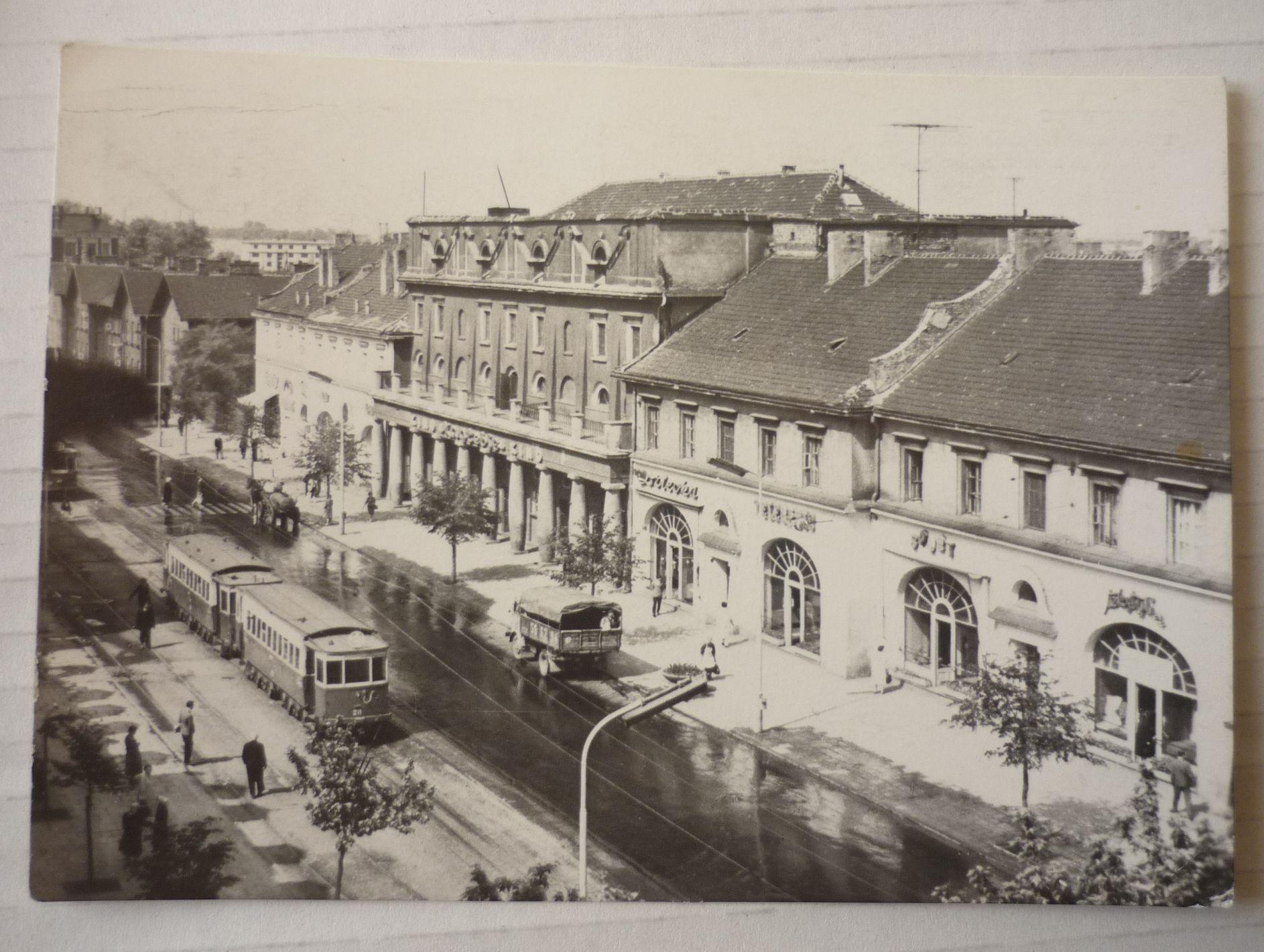 SOSNOWIEC - ULICA CZERWONEGO ZAGŁĘBIA - tramwaj