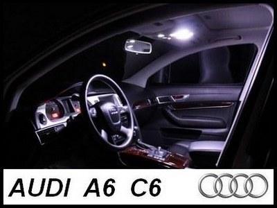 Audi A6 C6 Sedan Zestaw Oświetlenia Wnętrza Led 2963561041