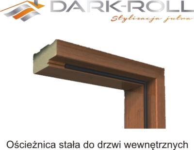 Unikalne Ościeżnica blokowa do drzwi wewnętrznych DARK-ROLL - 5080177216 HS86