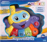 Edukacyjna zabawka Muzyczna OŚMIORNICA E-EDU