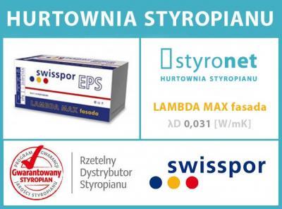 Swisspor 031 Lambda Max Styropian Grafit Owy 12cm 5324816594