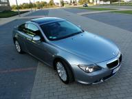 BMW E63 630i 258KM, automat, bezwypadkowy