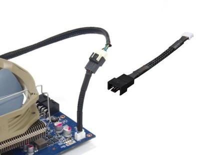 Gelid Adapter mini 4 Pin (VGA) na 4 Pin PWM