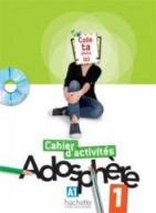 Adosphere 1 ćw.+DVD ROM HACHETTE - Marie-laure