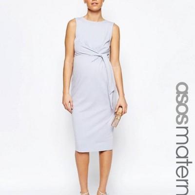 0ada4deaebcae Sukienka ASOS midi bez rękawów ciążowa-36 (S) - 6705723115 ...