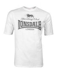 T-shirt Lonsdale London Sporting Club biała XL