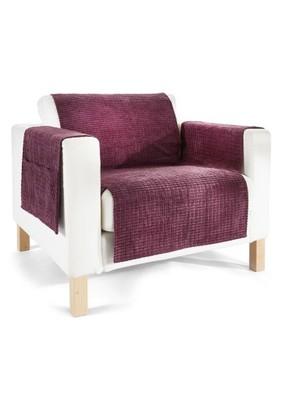 Narzuta na sofę Leyla fioletowy 3 930458 bonprix