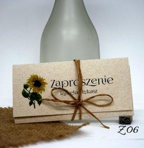 Zaproszenia ślubne Ekologiczne Rustykalne 6087150121 Oficjalne