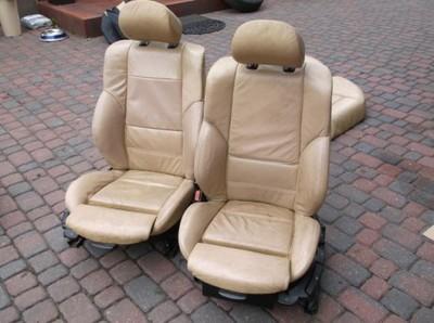 Bmw E46 Sedan Skóra Tapicerka M Pakiet M3 Fotele