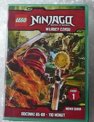 Lego Ninjago Władcy Czasu Cz1 Dvd Box Odc65 69 6975673855