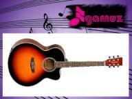 TANGLEWOOD DBT-SJCE/TSB  Gitara el-akustyczna PACK