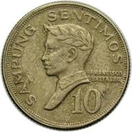 Filipiny 10 Sentimos 1971 r.