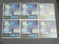 6SZT DVD+R PLATINUM 4.7GB + GRATIS 6SZT LINUX 7.10