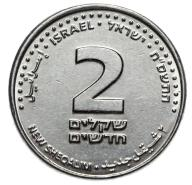Izrael - moneta - 2 Szekle 2005 - MENNICZA