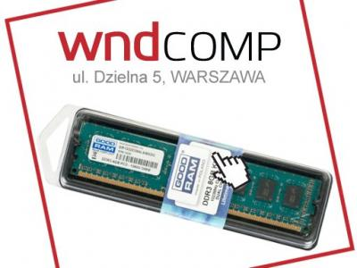 GOODRAM DDR3 8GB 1333MHz 2x4GB Nowe SKLEP Warszawa