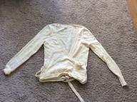 Sweterek ecru American Eagle w rozmiarze M