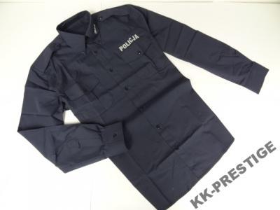 Koszula POLICJA nowy wzór,granat,długi rękaw XXL  9weKo