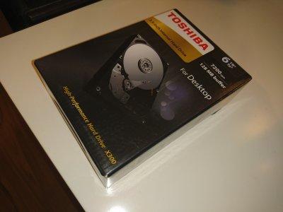 MEGA OKAZJA Dysk Toshiba 6TB Hard Drive X300