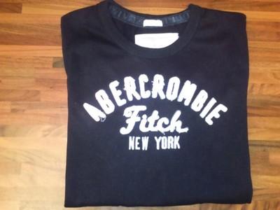 Longsleeve Abercrombie & Fitch  L czarna