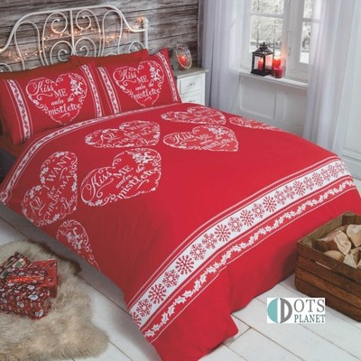 Pościel świąteczna Czerwona All I Want200x200 6579026169