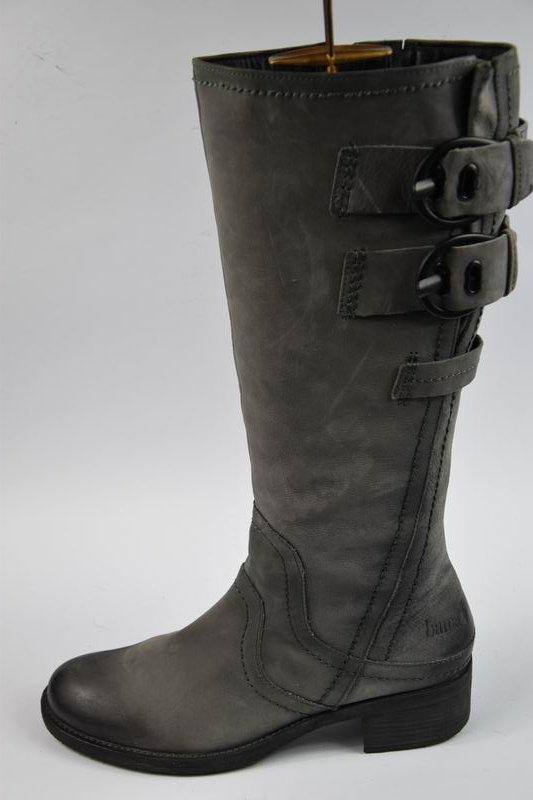 37531b88 Bama oficerki kozaki skórzane r.39/25cm - 7053803436 - oficjalne ...