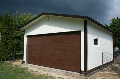 Garaż Z Płyty Warstwowej Warsztat 6241975714 Oficjalne Archiwum