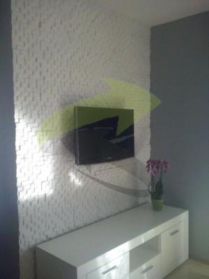 Panele Na ścianę Gipsowe 3d Kostki Super Cena Nlux 6078776289