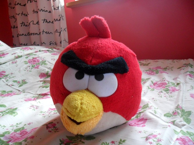 Angry Birds Pluszak Maskotka Czerwona Tesco 7018694362 Oficjalne Archiwum Allegro