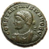 AC- KONSTANTYN II (337-340), brama, ANTIOCHIA, R1!