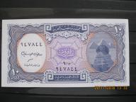 160.  Banknot Egipt 10 Piastrów  UNC