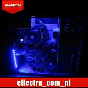 Oświetlenie Led Tuning Pc Modding Komputer Blue 5726182603