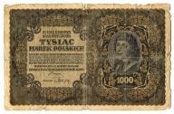 1000 marek polskich 1919 III ser. AP