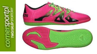 wspaniały wygląd na stopach zdjęcia ekskluzywne buty HALÓWKI ADIDAS X 15.3 IN różowe S7464 - 42 - 6003217210 ...