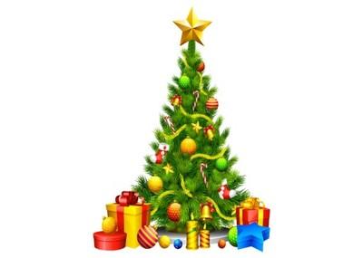 Naklejki świąteczne CHOINKI na szybę ŚCIANĘ 100cm - 6587764334 - oficjalne  archiwum Allegro
