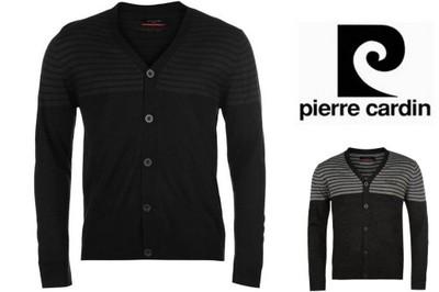 Męski sweter z koszulą  Pierre Cardin M  ELEGANCKI