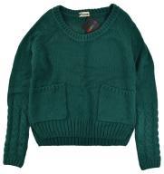 Tezenis Calzedonia ciepły sweter warkocze akryl S